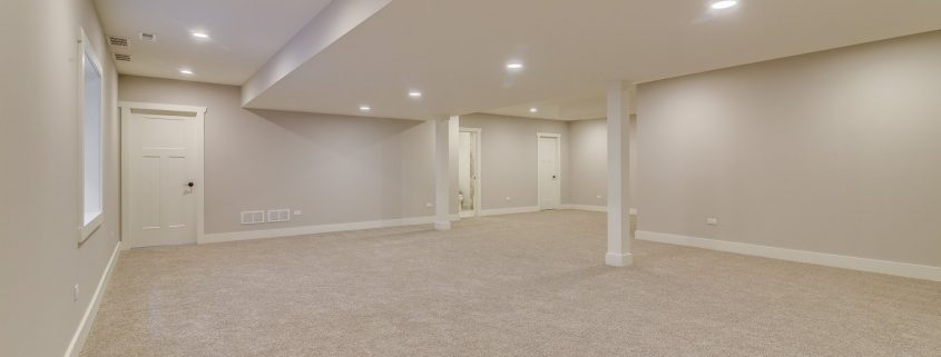 Basement Renovation, Water Damage