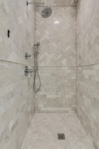 tiles are great in a shower